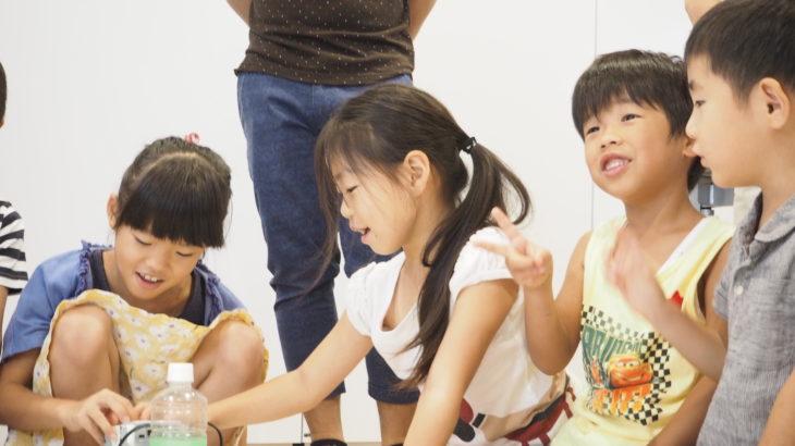 子供が夢中になり、やる抜く力が自然と育つロボットプログラミング